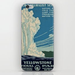 Yellowstone Works Progress Administration iPhone Skin