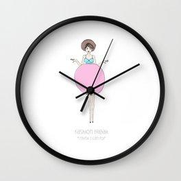 Fashion Freak #1 Wall Clock