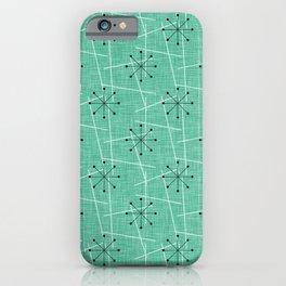Atomic Starbursts Mid-Century Style iPhone Case