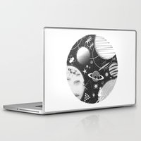 sport Laptop & iPad Skins featuring SPACE & SPORT by Kiley Victoria