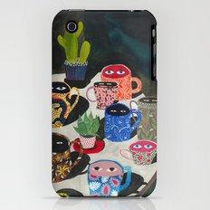 Suspicious mugs Slim Case iPhone (3g, 3gs)