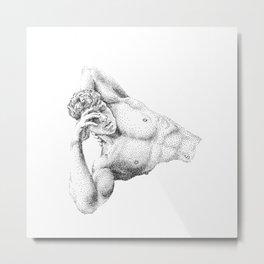 Charles - Nood Dood Metal Print