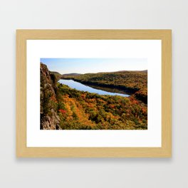Autumn Splendor Framed Art Print