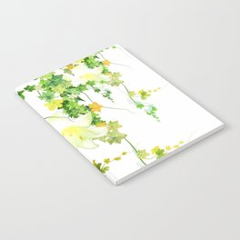 Watercolor Ivy Notebook