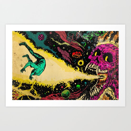 Interstellar Overdrive  Art Print