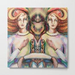 Archangel Michael Metal Print