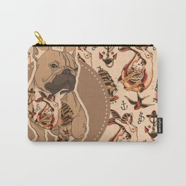 Pets Ink - JS Pattern Carry-All Pouch