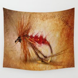 Claret Hopper Wall Tapestry