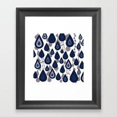 It's Raining, It's Pouring Framed Art Print