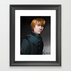 Weasley is our King Framed Art Print