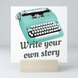 Write your own story Mini Art Print