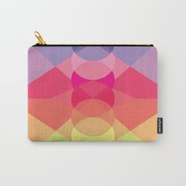 Straight Lines on Circles, or is it Circles Over Lines Carry-All Pouch