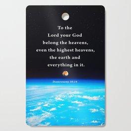 The Highest Heavens Cutting Board