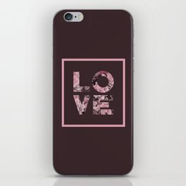 Succulent LOVE #society6 #love #succulent iPhone Skin
