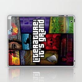 Grand Theft Literature Laptop & iPad Skin