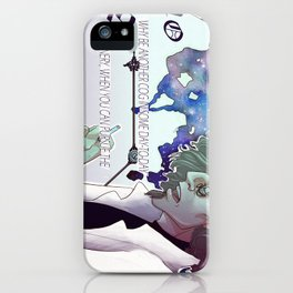 Why Be Another Cog iPhone Case
