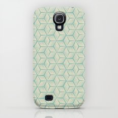woodblock (mint) Galaxy S4 Slim Case