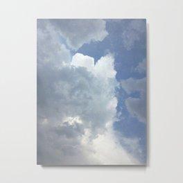 The Dark Clouds Of Rain Metal Print