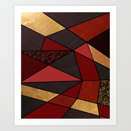 Abstract #467 Art Print