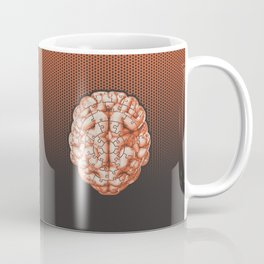 Puzzle brain GINGER / Your brain on puzzles Coffee Mug
