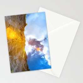 the sun and the sky - infrared photography Stationery Cards