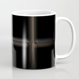 Silver metal shine fence Coffee Mug