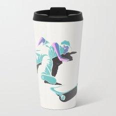 skateboarding (lost time, risograph version) Travel Mug