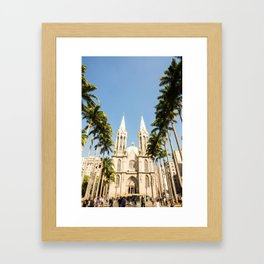 Sao Paulo Cathedral Framed Art Print