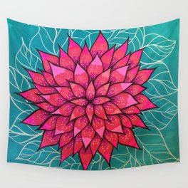 Flower4 Wall Tapestry