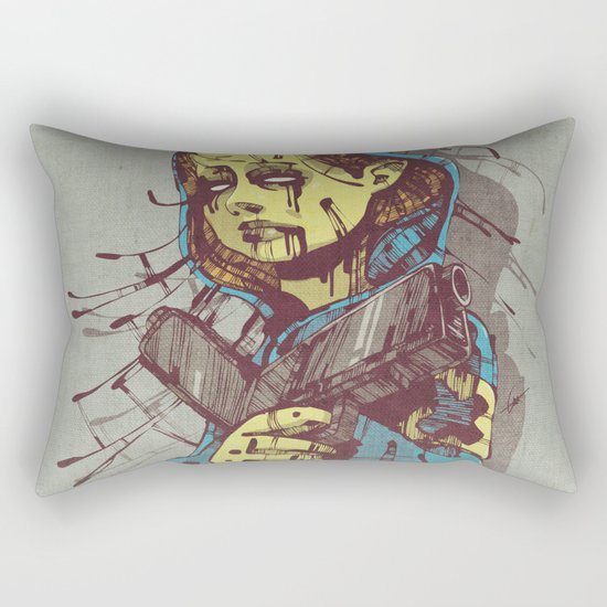 Shepherd II. Rectangular Pillow