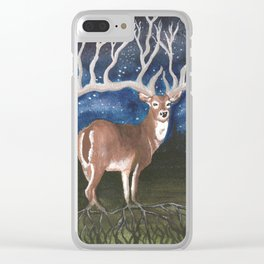 """""""Nature's Connection"""" Clear iPhone Case"""