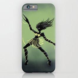 Creepy Midnight Dancing Girl iPhone Case
