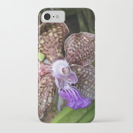 Mimi Palmer Orchid iPhone Case