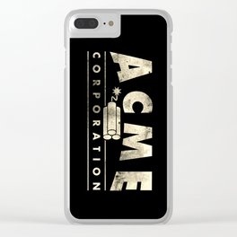 Acme Corporation Clear iPhone Case