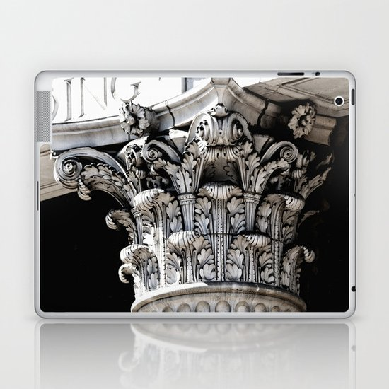 Classic architectural column Laptop & iPad Skin