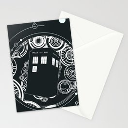Negative Time and Space - Doctor Who inspired Stationery Cards