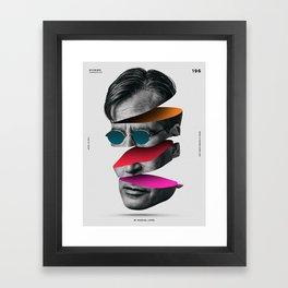 196 - Dividido Framed Art Print