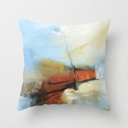 Les Mar Throw Pillow