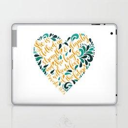 Proverbs 31:25 Laptop & iPad Skin