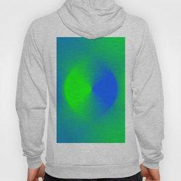 Blue and Green Burst Hoody
