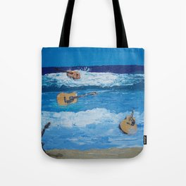 Rhythm of the Sea Tote Bag