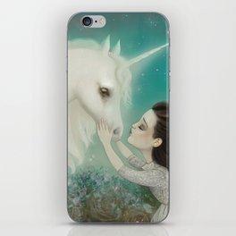 Unicorn Kiss iPhone Skin