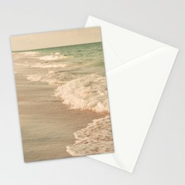 Tropical Beach Love Stationery Cards