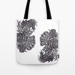 Flowers, Feathers & Flicks ! Tote Bag