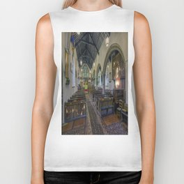 Christmas Church Biker Tank