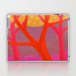Three Red Trees Laptop & iPad Skin