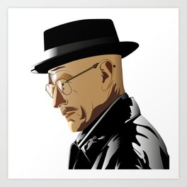 Breaking Bad: Heinsenberg Art Print