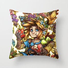 Master Chef Link Throw Pillow