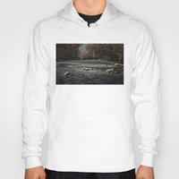 road Hoodies featuring Road by Jesús M.Chamizo