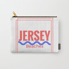 Jersey Beaches Graphic Carry-All Pouch